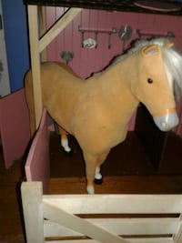 brown and gray horse plush toy Seattle, 98106