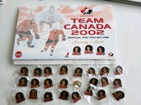 2002 Team Canada Hockey Official Pin Collection