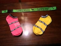 two red and yellow socks Sand Springs