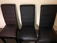 Set of dining chairs Pickering, L1V 6M6