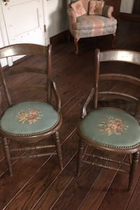 Two antique chairs $60 Mount Clemens, 48043