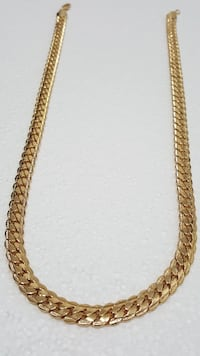 18K Gold PVD Plated Chunky Cuban Chain