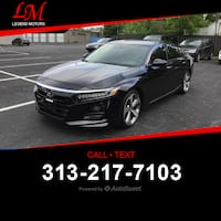 2018 Honda Accord Touring 1.5T Highland Park, 48203
