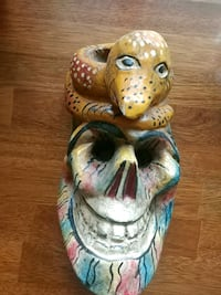 Wooden snake mask orderment