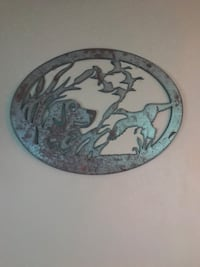 2'  x  2-1/2' Wildlife metal decor