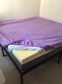 Memory foam topper(3 inches ) for king size bed