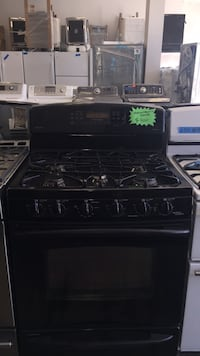 Gas stove electric oven like new condition GE