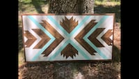 Handcrafted Geometric Wall Art Baton Rouge