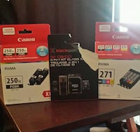 2xCanon Ink Cartridges Winnipeg, R2L 1G5