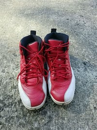 pair of red-and-white basketball shoes Huntsville, 35810