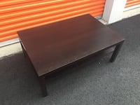 Wood Coffee Table - Will Deliver Sterling, 20164