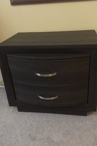 """Night stand, just a couple of marks on it, 26"""" wide, 22"""" high Barrie, L4N 7N1"""