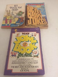 Three gently used jokes books 3 for $2.00