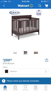 Graco Lauren 4-in-1 Convertible Crib Thorold, L3B