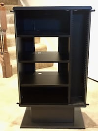 Black Audio and Media cabinet with glass doors Aldie, 20105
