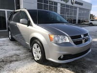 2018 Dodge Grand Caravan Crew Plus| Low KM| Leather| CD Player Spruce Grove