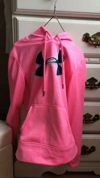Pink under armour sweater