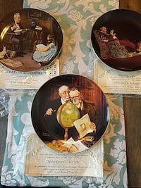 Norman Rockwell plates Gaithersburg, 20882
