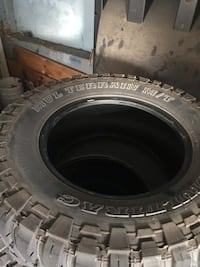 3312.50r17 mud tire 6 32nds  Langley, V3A 4E5