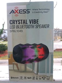 Crystal Vibe LED Bluetooth speaker Baltimore, 21215