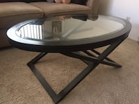Coffee Table with Glass Top Los Angeles, 90034