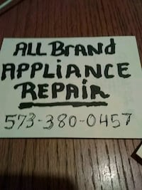 All Brand appliance repair signage Sikeston, 63801