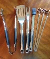 blue-and-silver grilling tool kit Virginia Beach, 23454