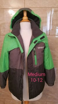 green and black zip-up hoodie Fresno, 93720