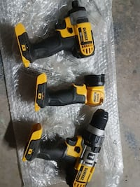 DeWalt drills and flashlight