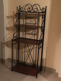 black metal 4-layer rack Laurel
