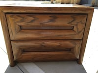 Solid Oak nightstand Rockville