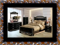 11pc Ashley bedroom set 52 km