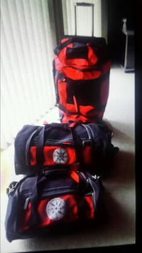 New 3pc luggage / outdoor gear set