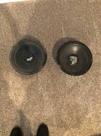 Two subs. Both work! One has a cut in it, but with some super glue and love she will work like new. Bluffdale, 84065