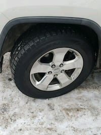 Mags and tires for jeep 18 Montréal, H1P 3L2