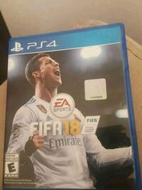 EA Sports FIFA 18PS4 game case Mississauga, L5B 1R6