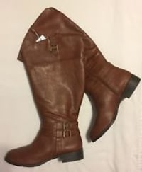 Wide calf size 10 boots *new*
