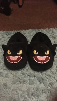 Toothless bed slippers Lake Zurich, 53211