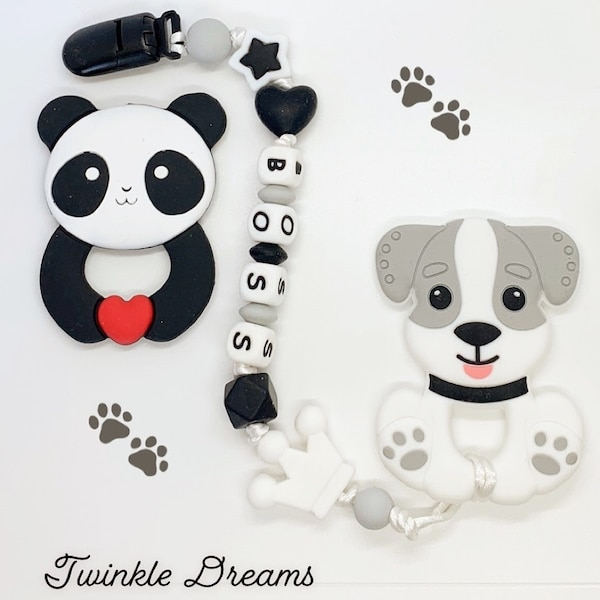 Customize teether baby boy pacifier holder clothes kid child 6178c1d4-14a1-46f4-9324-f0a9fb6ddaae