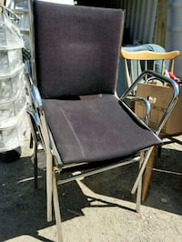 2 black chairs $5ea Calgary, T3B 2J4