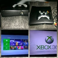 black Xbox 360 console with controller Bakersfield, 93305