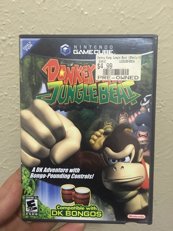 8b6a1edc012 Used Donkey Kong Jungle Beat for sale in Bayonne - letgo