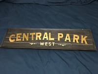 Wooden Central Park sign Great Christmas gift Mississauga, L5G 4E2