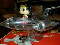 Wonder Woman invisible jet funko pop rides $50 EACH  Toronto, M1L 2T3
