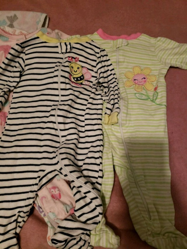 ab1c982622f5 Used Baby pajamas 6-9 months for sale in Grand Prairie - letgo