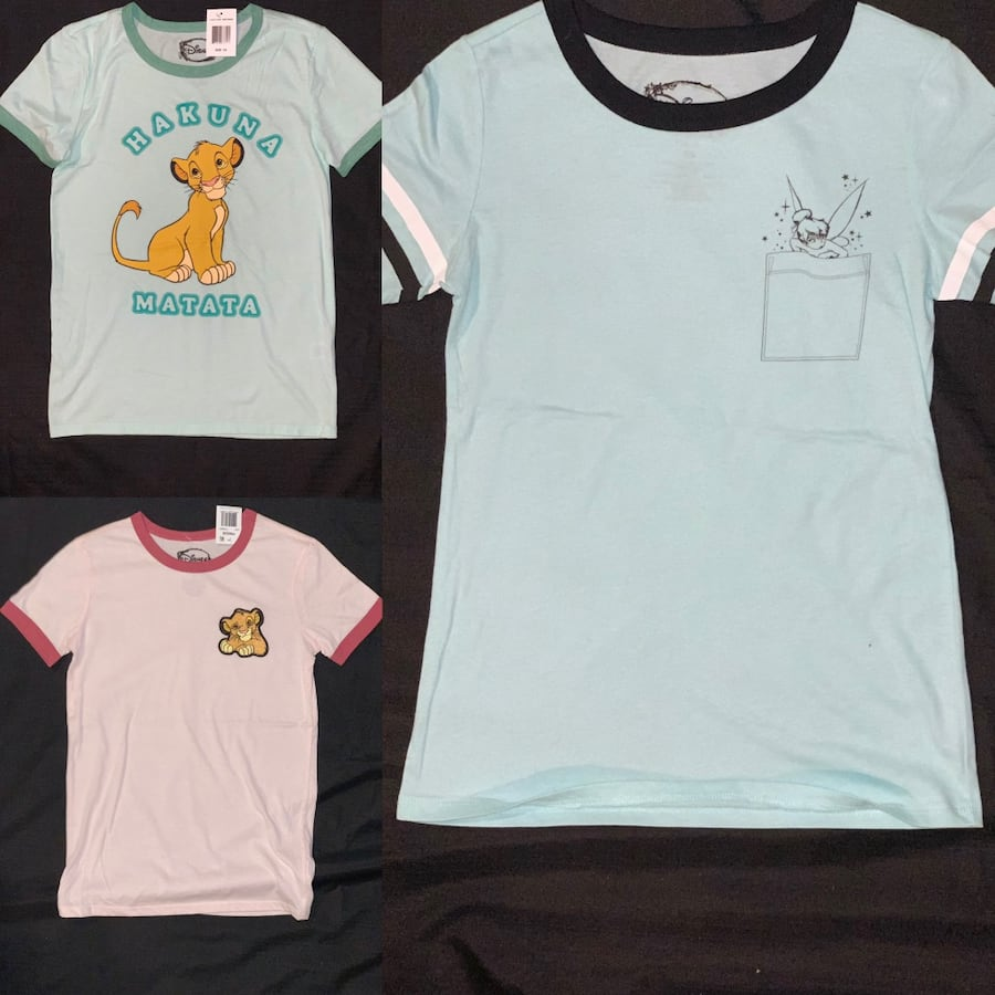 Disney T-shirt bundle