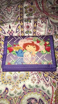 Strawberry shortcake wallet