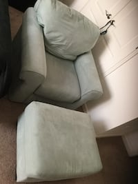 Chair with ottoman  Stafford, 22554
