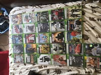 assorted Xbox 360 game cases Charles Town, 25414