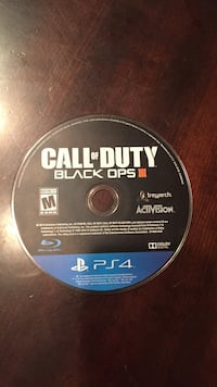 Call of Duty Black Ops 3 PS4 game disc